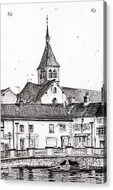 Laignes France Acrylic Print by Vincent Alexander Booth
