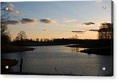 Lake Cumberland County Tennessee Acrylic Print by Douglas Barnett