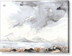 Lake District Acrylic Print by Jim Green