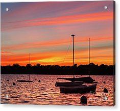 Lake Harriet Sunrise Acrylic Print by Ernesto Ruiz