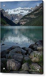 Lake Louise Acrylic Print by Patricia Hofmeester
