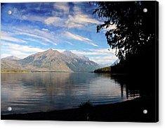 Lake Mcdonald 20 Acrylic Print by Marty Koch