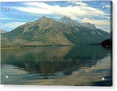Lake Mcdonald 51 Acrylic Print by Marty Koch