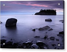 Lake Superior Twilight Acrylic Print by Eric Foltz