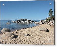Lake Tahoe Morning Acrylic Print by Carol Groenen
