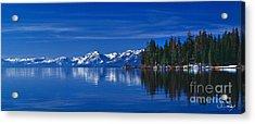 Lake Tahoe Reflections Acrylic Print by Vance Fox