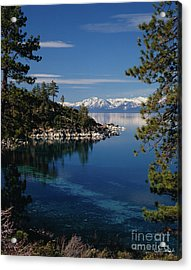 Lake Tahoe Smooth Acrylic Print by Vance Fox