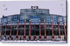 Lambeau  Acrylic Print by Tommy Anderson