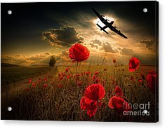 Lancaster Tribute Acrylic Print by Stephen Smith