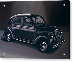 Lancia Ardea 1939 Painting Acrylic Print by Paul Meijering