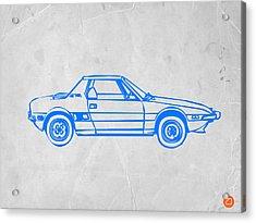 Lancia Stratos Acrylic Print by Naxart Studio
