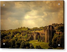 Lancing College Acrylic Print by Chris Lord