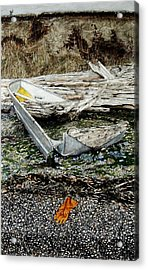 Land Of Plenty Acrylic Print by Perry Woodfin
