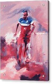 Landon Donovan 545 2 Acrylic Print by Mawra Tahreem