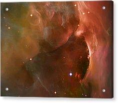 Landscape Orion Nebula Acrylic Print by The  Vault - Jennifer Rondinelli Reilly