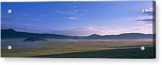 Landscape With Mountains Acrylic Print by Panoramic Images