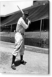 Larry Doby, Circa 1947 Acrylic Print by Everett