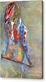 Last Dance Acrylic Print by Johnny Johnston