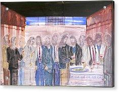 Last Supper 20th Century Acrylic Print by Marwan George Khoury