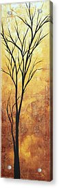 Last Tree Standing By Madart Acrylic Print by Megan Duncanson