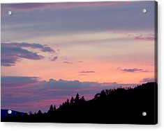 Lavender Skies Acrylic Print by Nick Gustafson