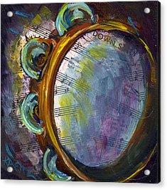 Lay Down Sally Acrylic Print by Raette Meredith