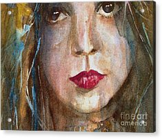 Lay Lady Lay Acrylic Print by Paul Lovering