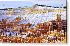 Layers Acrylic Print by Chad Dutson