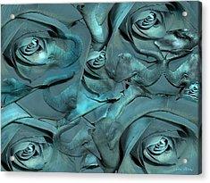 Layers Acrylic Print by Sabine Stetson