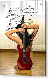 Layla Acrylic Print by Donovan Torres