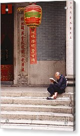 Lazy Day In Hong Kong Acrylic Print by Sandra Bronstein