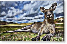 Lazy Day Acrylic Print by Marvin Blaine
