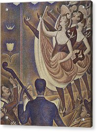Le Chahut Acrylic Print by Georges Pierre Seurat