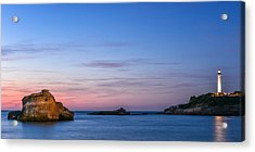 Acrylic Print featuring the photograph Le Phare De Biarritz by Thierry Bouriat