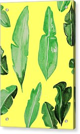 Leaves Acrylic Print by Cortney Herron