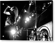 Led Zeppelin 1972 Acrylic Print by Chris Walter