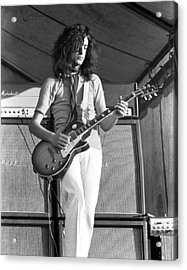 Led Zeppelin Jimmy Page '69 Acrylic Print by Chris Walter