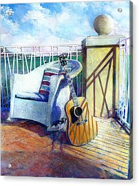 Lefty Left Acrylic Print by Andrew King