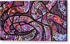 Legacy Acrylic Print by Expressionistart studio Priscilla Batzell