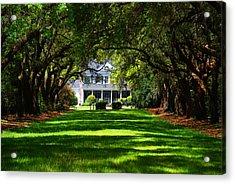 Legare Waring House Charleston Sc Acrylic Print by Susanne Van Hulst