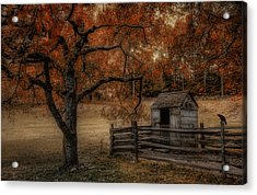 Legend Of The Fall Acrylic Print by Robin-lee Vieira