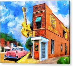 Legendary Sun Studio Acrylic Print by Mark Tisdale