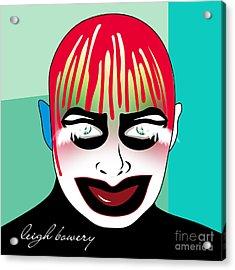 Leigh Bowery Acrylic Print by Mark Ashkenazi