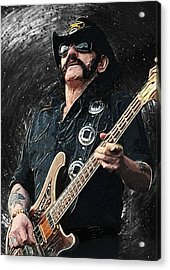 Lemmy Acrylic Print by Taylan Soyturk