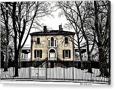 Lemon Hill Mansion - Philadelphia Acrylic Print by Bill Cannon