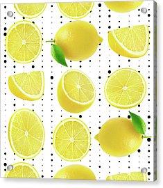 Lemon  Acrylic Print by Mark Ashkenazi