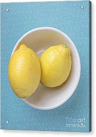 Lemon Pop Acrylic Print by Edward Fielding