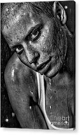 Lena Acrylic Print by Eugene Volkov