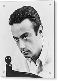 Lenny Bruce 1925-1966, Controversial Acrylic Print by Everett