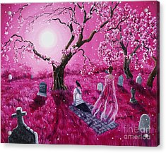 Lenore In The Breaking Dawn Acrylic Print by Laura Iverson